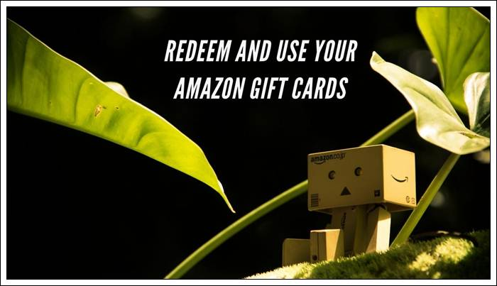 Redeem and Use Your Amazon Gift Cards